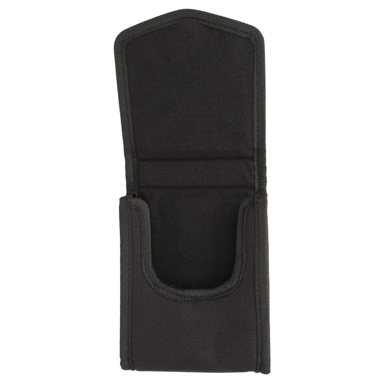 Black Nylon Vertical Phone Holster - with Belt Loop-Clip, Sub Compact 380