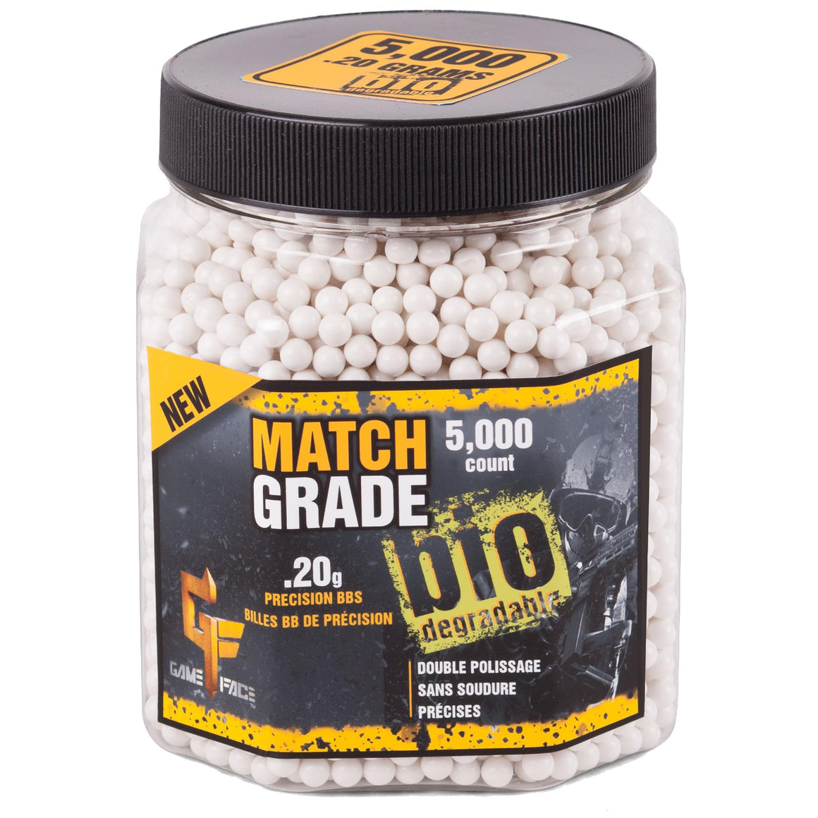 Match Grade 6mm Bio BB .20 Gr - (Per 5000)