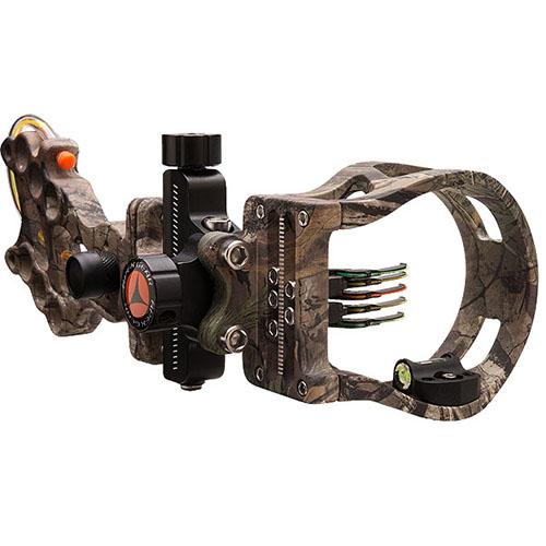 Apex Gear Attitude Micro Sight - 5 Pin, .019, Right-Left Hand, Realtree Xtra