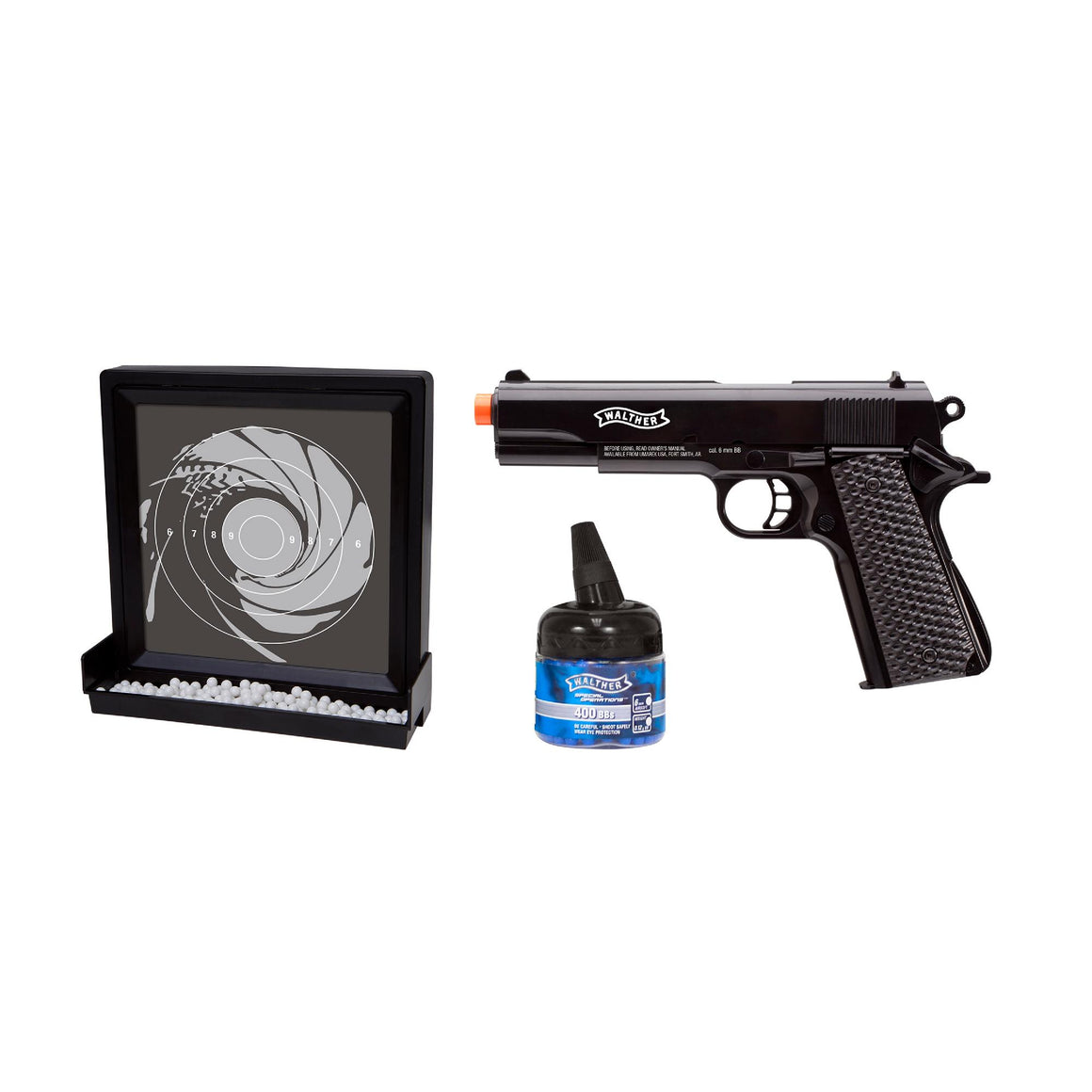 6mm Walther Target Pack - Black
