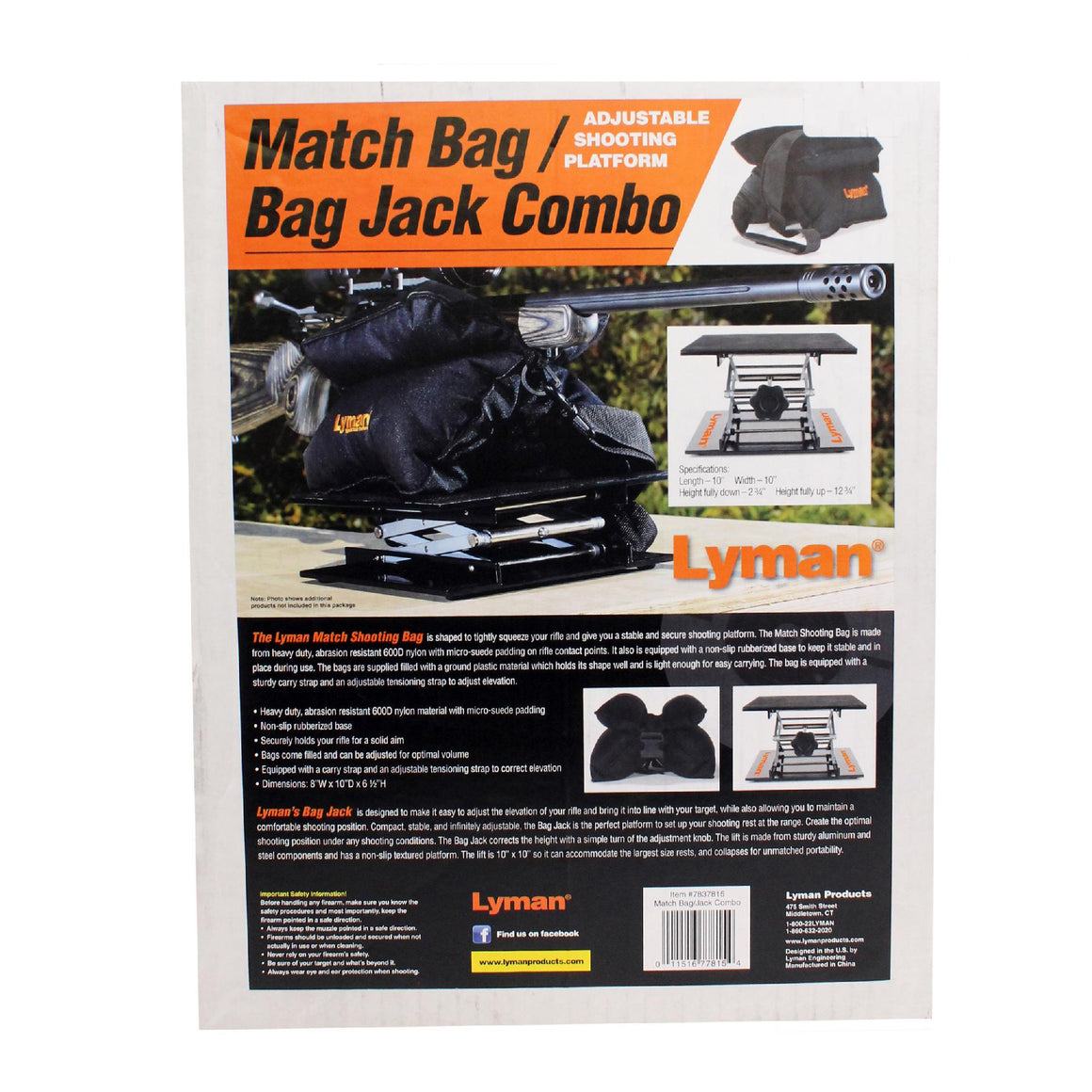 Match Bag & Scissor Lift Combo Kit