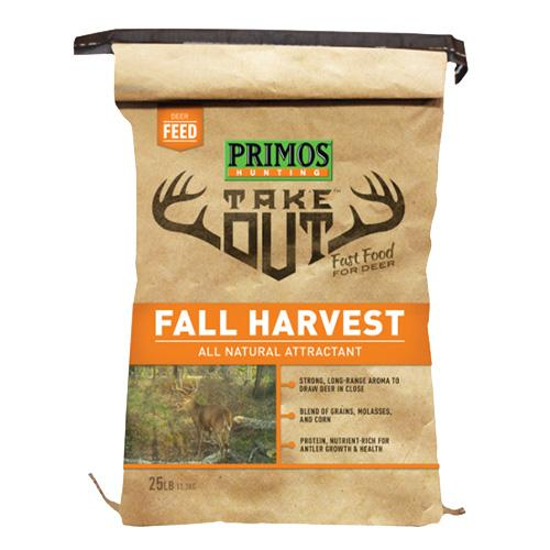 Take Out - Out Fall Harvest Deer Attractant Powder, 25 lb Bag