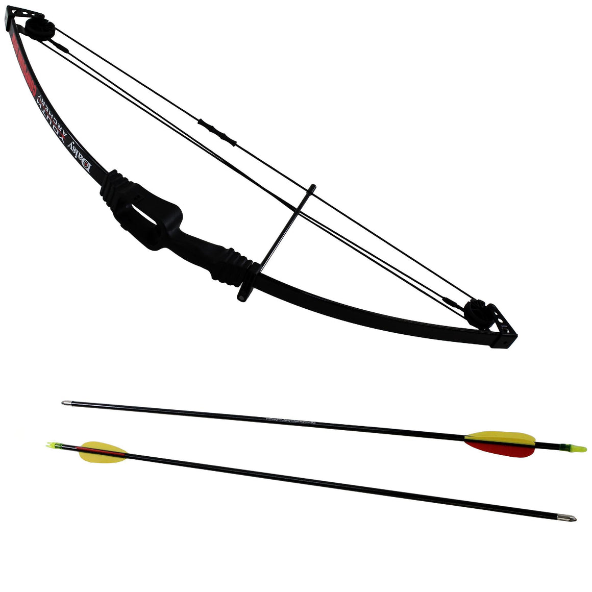 "Youth Package - Compound Bow, Ambidextrous, 13-19 lb Draw Weight, 16""-25"" Draw Length, Black"