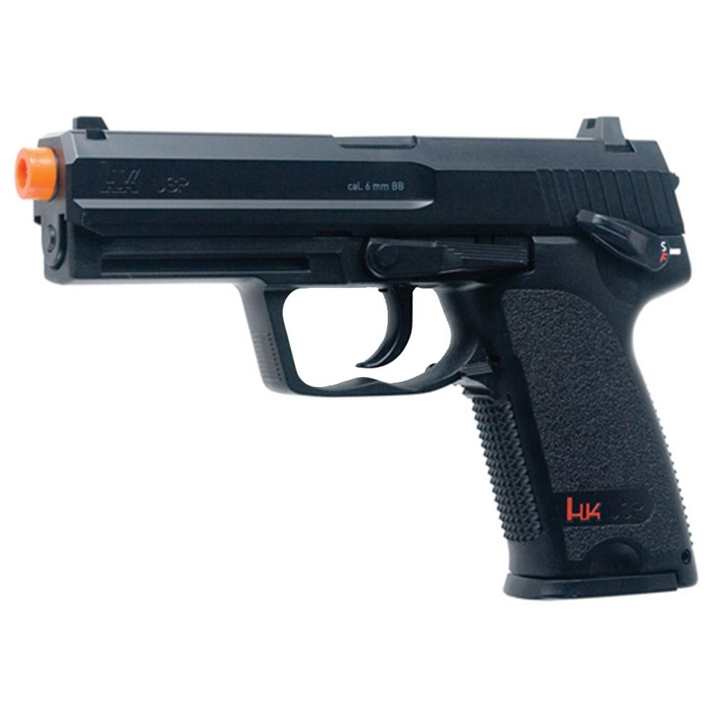 H&K Replica Soft Air - USP, CO2, Black .6MM BB