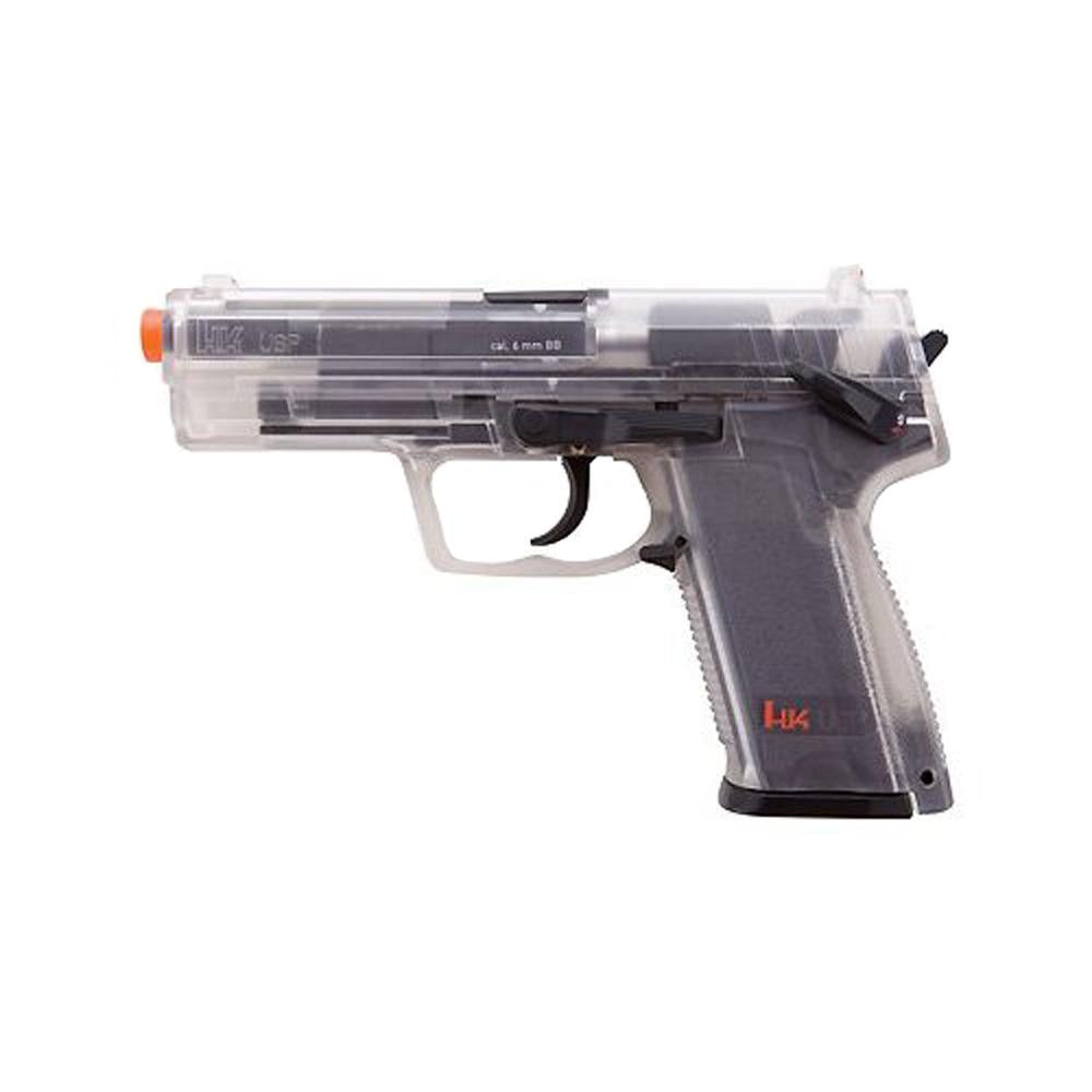 H&K Replica Soft Air - USP, CO2, Clear .6MM BB