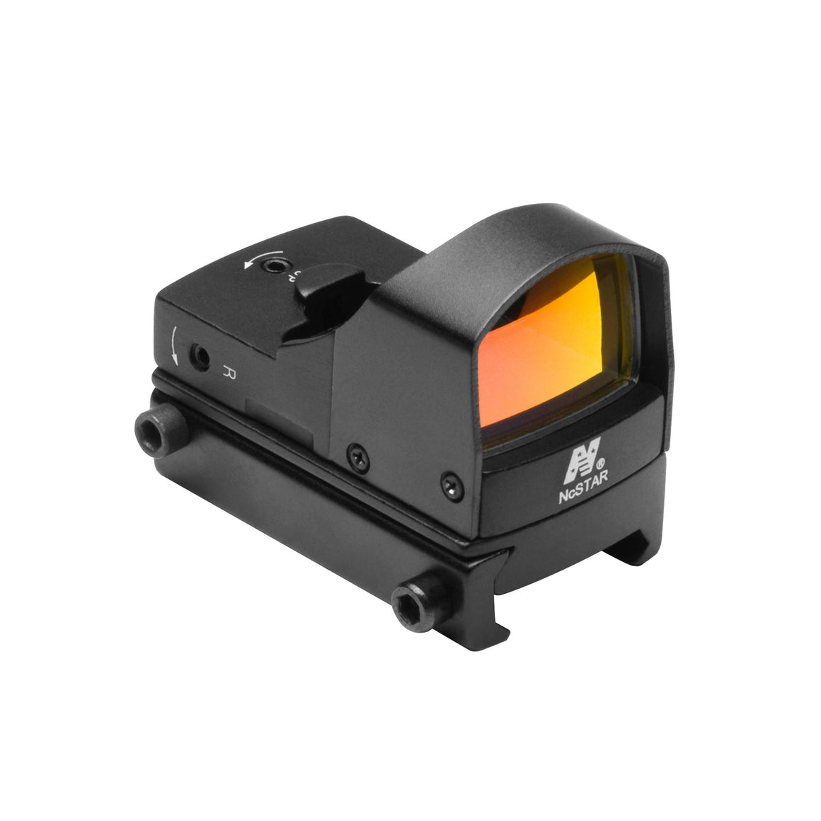Compact Tactical Red Dot Reflex Sight Black