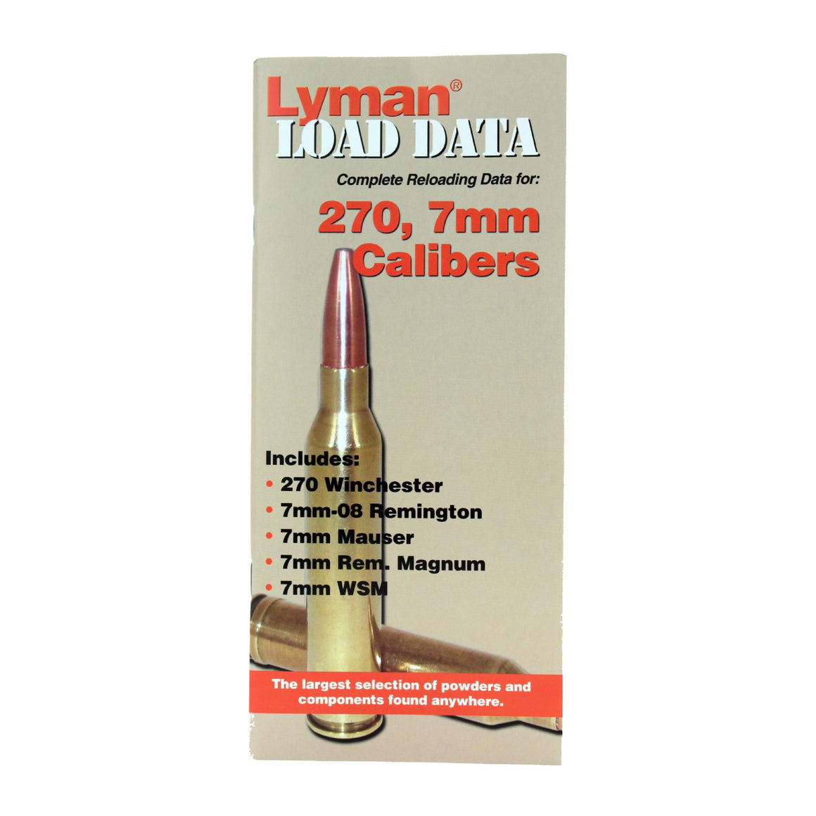 Load Data Book - 270, 7mm