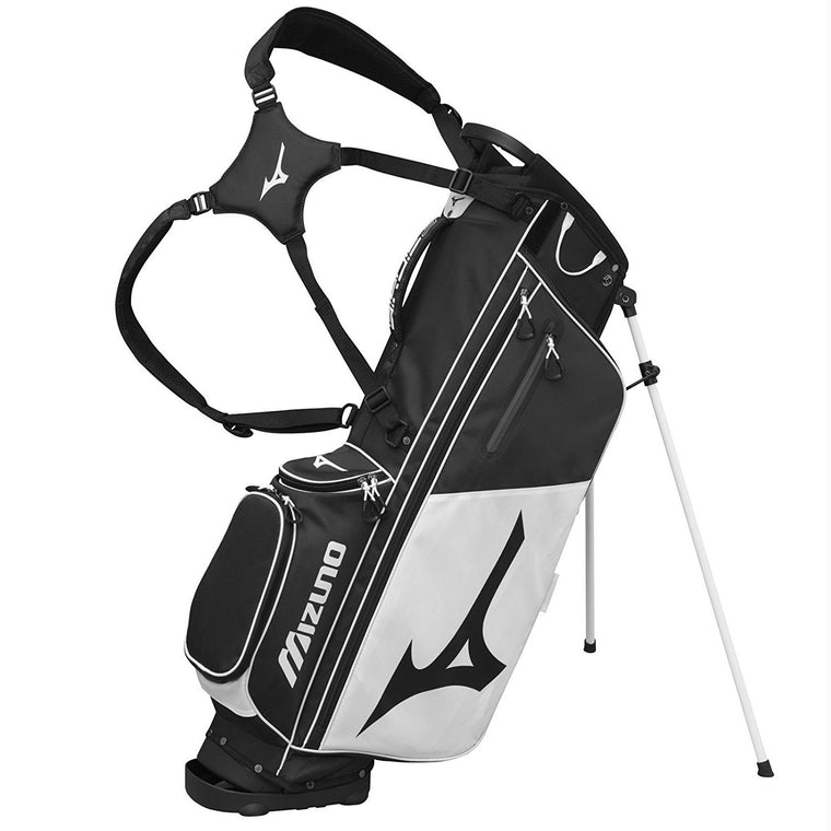 Mizuno BR-D3 Golf Stand Bag - Black-White