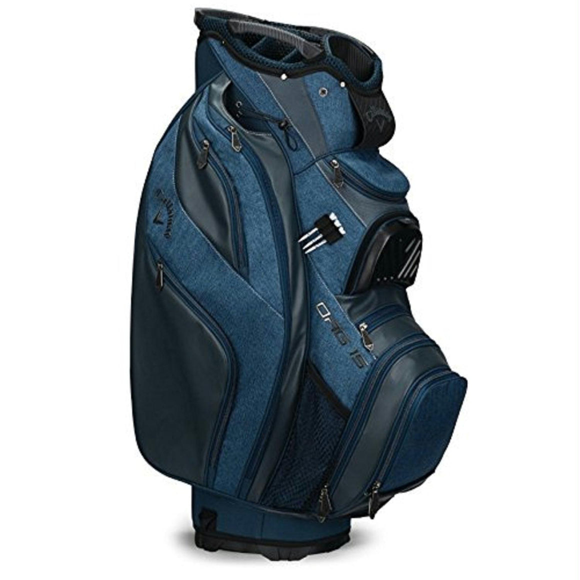 Callaway ORG 15 Cart Bag - Titanium-Navy-White