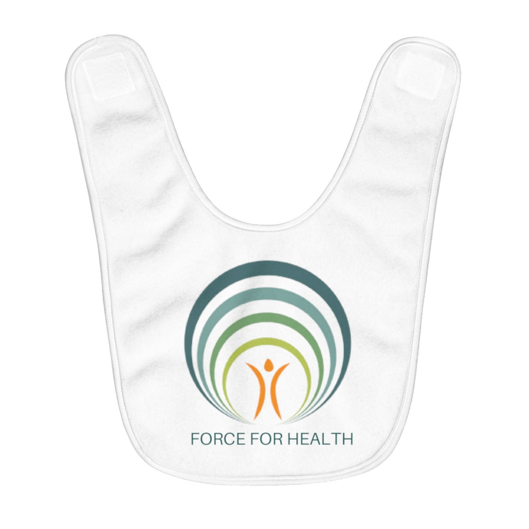 Force for Health® Fleece Baby Bib