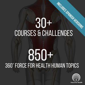 Force for Health® 360° Acadamy Pack - 500