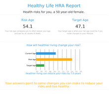 Force for Health® Health Risk Assessment - Does your Real Age Match your Biological Age?