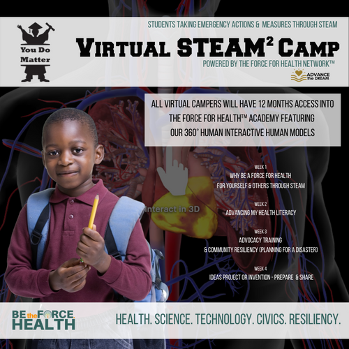 You DO Matter Virtual STEAM² Camp Experience