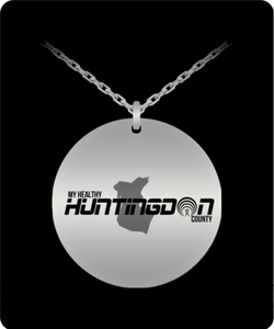 My Healthy Huntingdon Stainless Steel Necklace