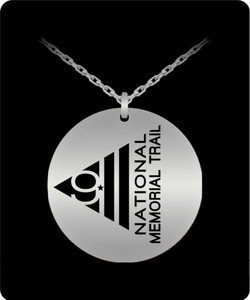 911 Memorial Trail Silver Plated Necklace