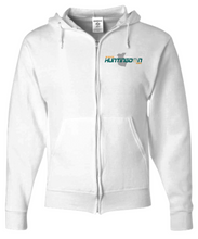 My Healthy Huntingdon Force for Health White Zipper Hoodie