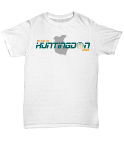 My Healthy Huntingdon Adult White Tee