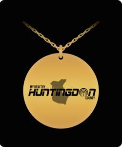 My Healthy Huntingdon Gold Plated Necklace