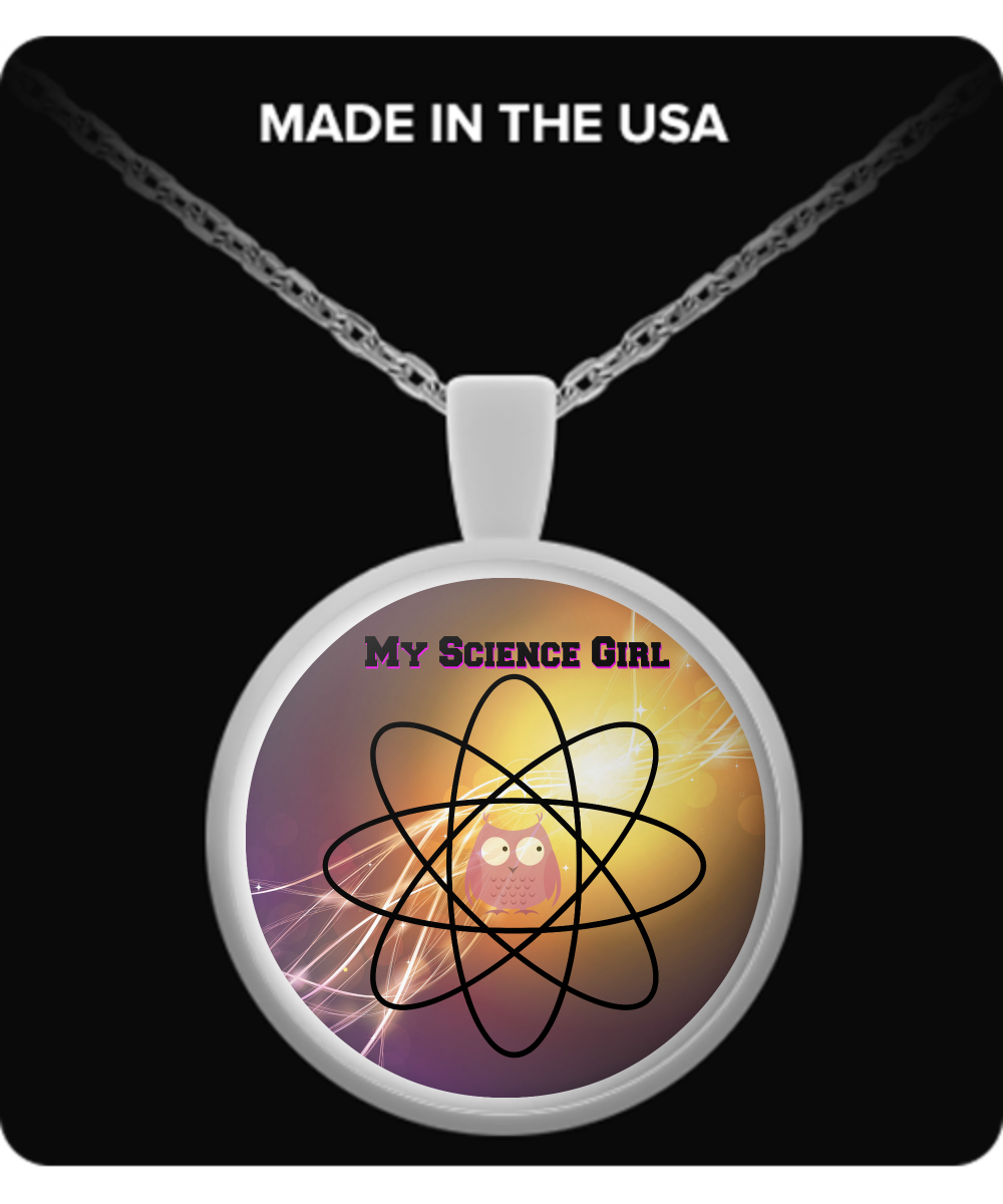 My Science Girl Necklace