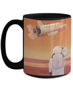 Marstranaut 15 oz Mug with School Logo
