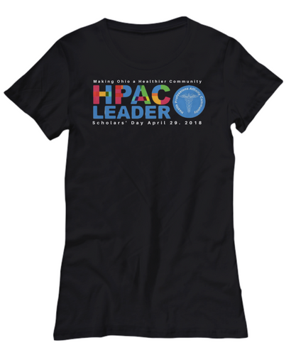 HPAC Scholar Day Black Tee