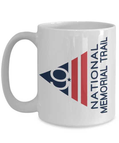 911 Memorial Trail 15 oz White Mug