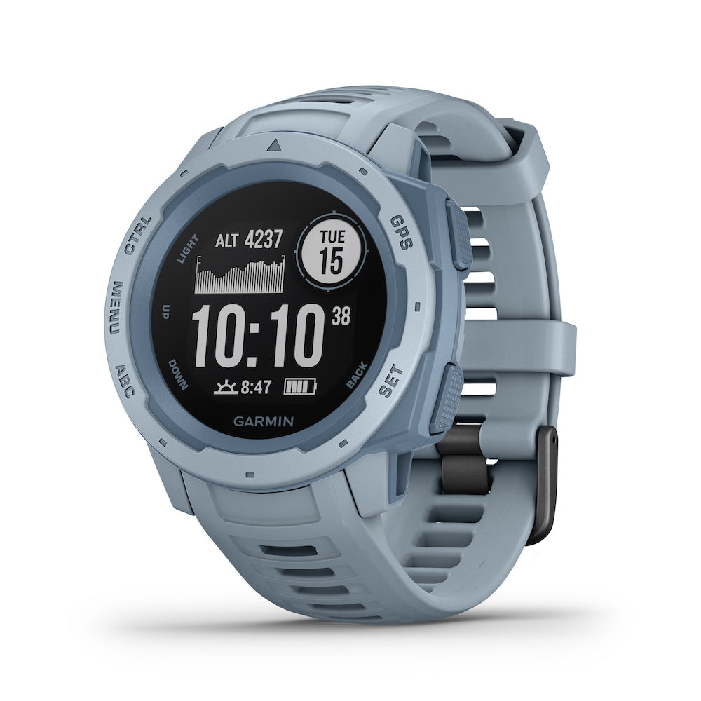 Garmin Instinct GPS Watch, Sea Foam - Tactical Sports Gear