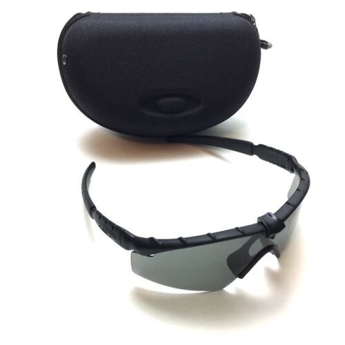 Oakley Ballistic SI M Frame 2.0 Sunglasses Kit – Matte Black Frame With Gray Lenses - Tactical Sports Gear