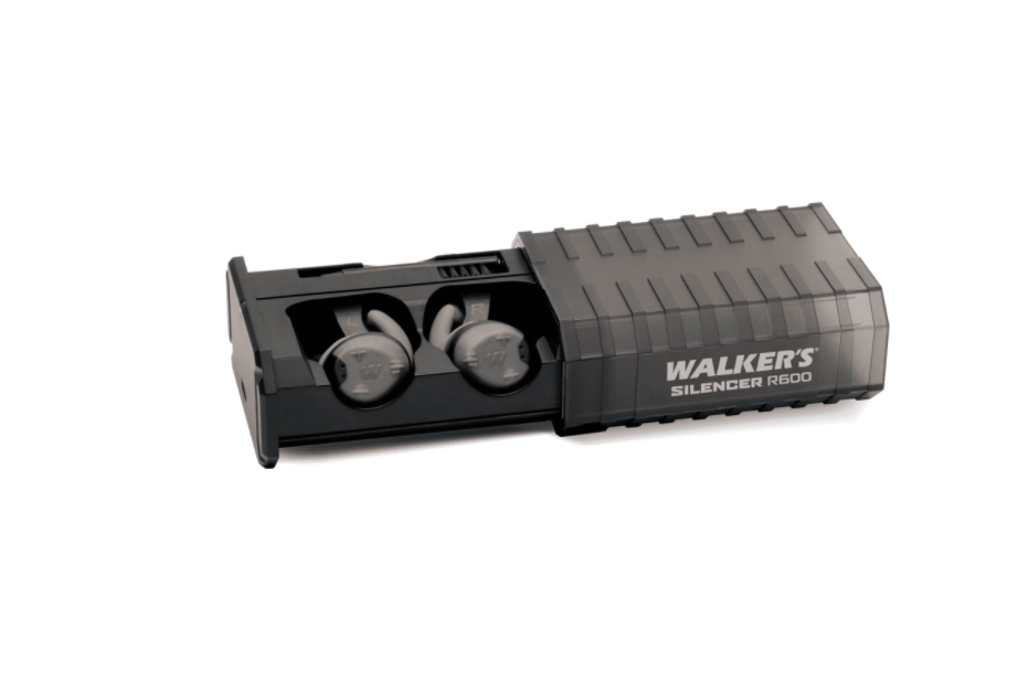 Walkers GWP-SLCRRC - Rechargeable SILENCER Earbud Pair - Hearing Protection - Tactical Sports Gear
