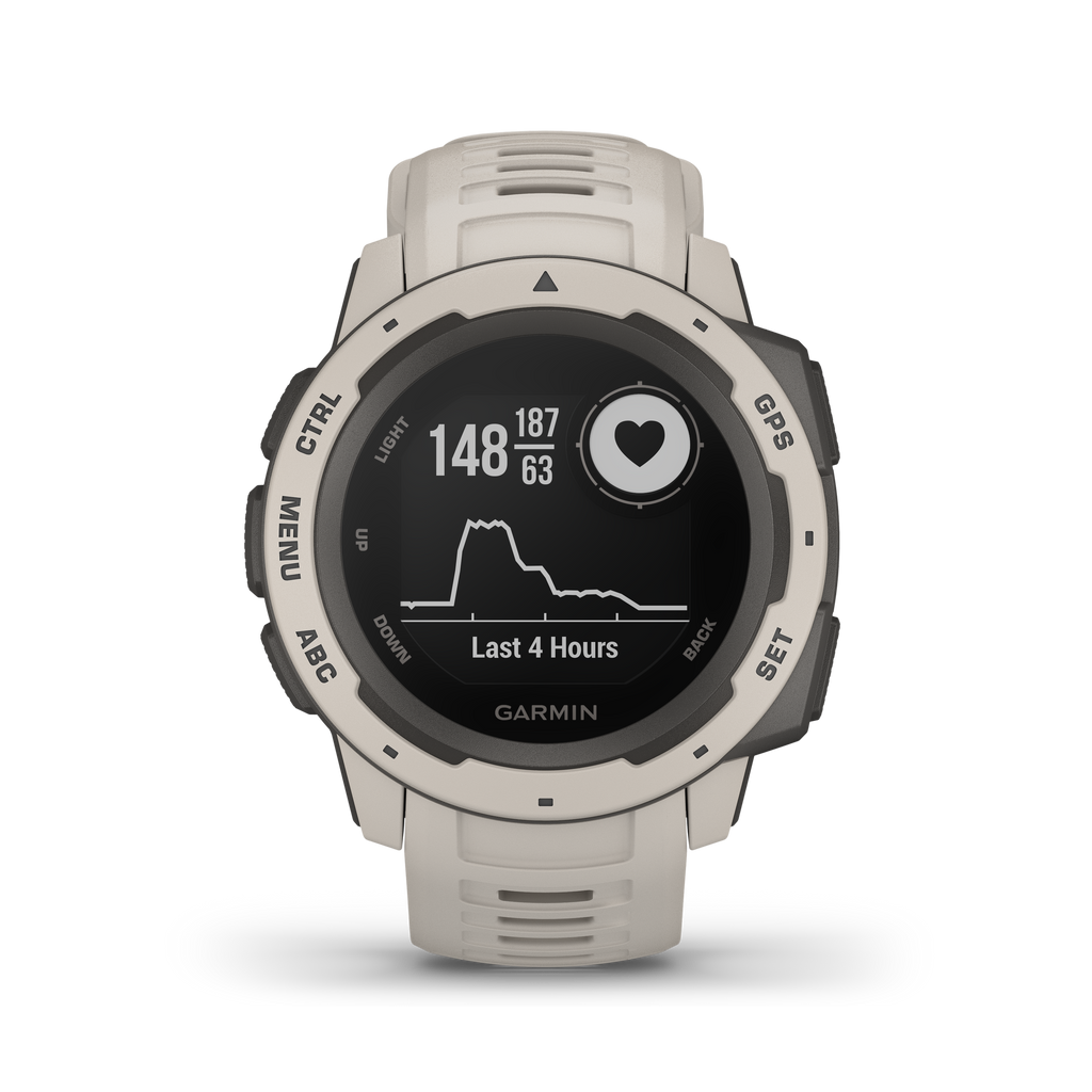 Garmin Instinct GPS Watch, Tundra - Tactical Sports Gear