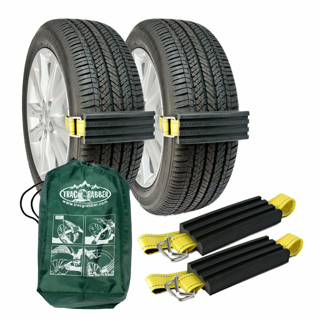 Trac-Grabber x2 - The Get Unstuck Traction Solution for Cars, Mini Vans and ATVs - Tactical Sports Gear