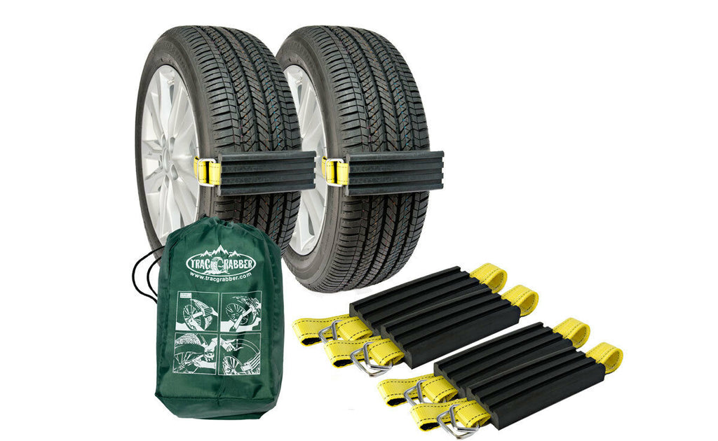 Trac-Grabber x4 -The Get Unstuck Traction Solution for Trucks and SUVs (TG-T02) - Tactical Sports Gear