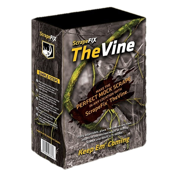 ScrapeFix The VINE - Adjustable Mock Scrape - Whitetail Deer Attractant - Tactical Sports Gear