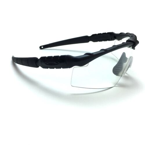 Oakley Ballistic SI M Frame 2.0 Glasses - Matte Black Frame with Clear Lenses - Tactical Sports Gear