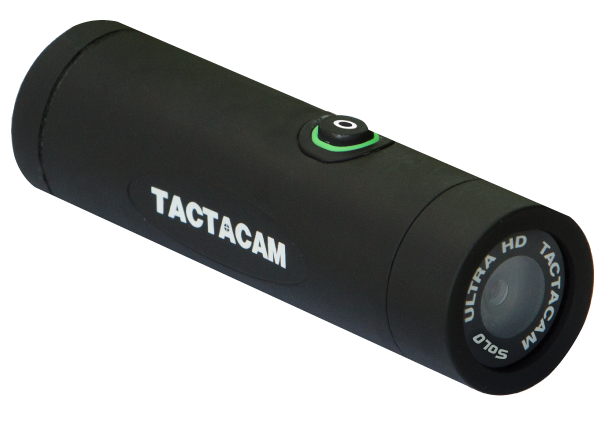 Tactacam SOLO Action Camera - WIFI capable - Packaged with 3 mounts - Tactical Sports Gear
