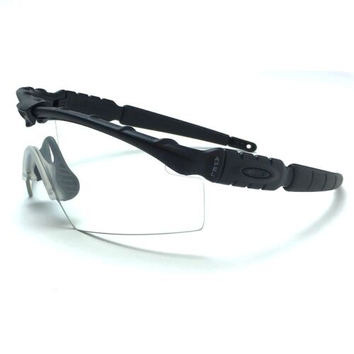 Oakley Ballistic SI M Frame 2.0 Glasses Kit - Matte Black Frame with Clear Lenses - Tactical Sports Gear