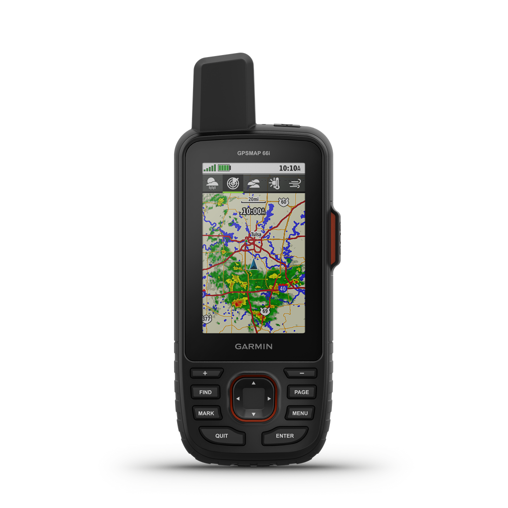 Garmin GPSMAP 66i Handheld GPS Navigator and Satellite Communicator - Tactical Sports Gear