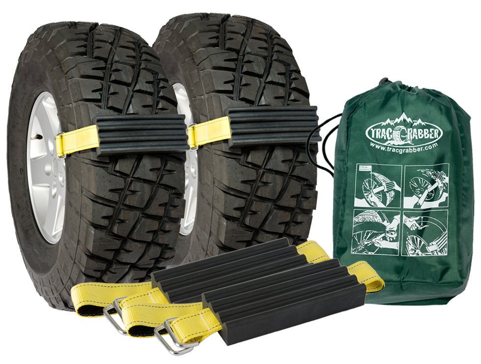 Trac-Grabber x2 -The Get Unstuck Traction Solution for Trucks and SUVs (TG-T01) - Tactical Sports Gear