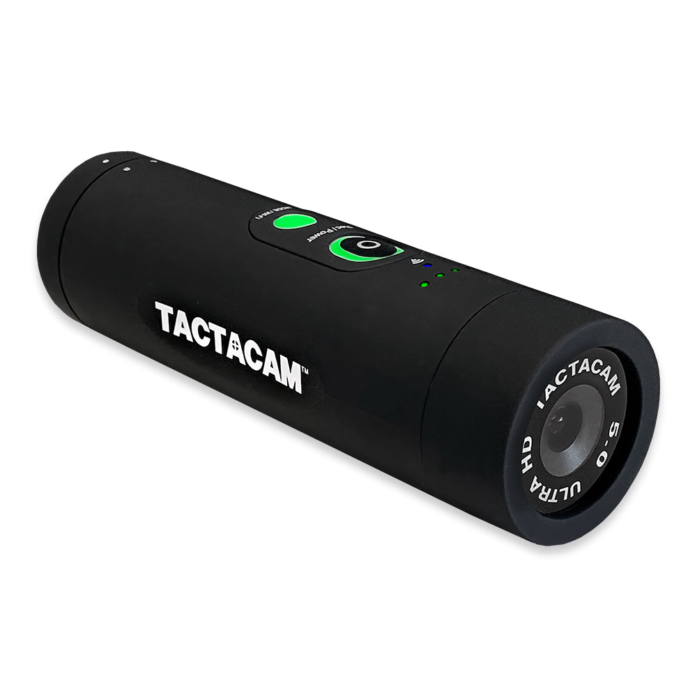 Tactacam 5.0 Regular Action Camera, 4k, 8x zoom, Model: C-FB-5 - Tactical Sports Gear