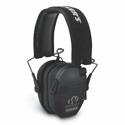 Walkers Game Ear Electronic Muff - Razor Slim 23db (Black) - GWP-RSEM - Tactical Sports Gear