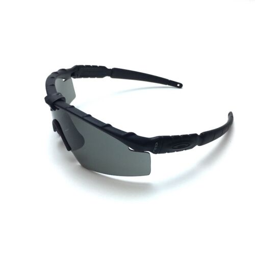 Oakley Ballistic SI M Frame 2.0 Sunglasses – Matte Black Frame With Gray Lenses - Tactical Sports Gear