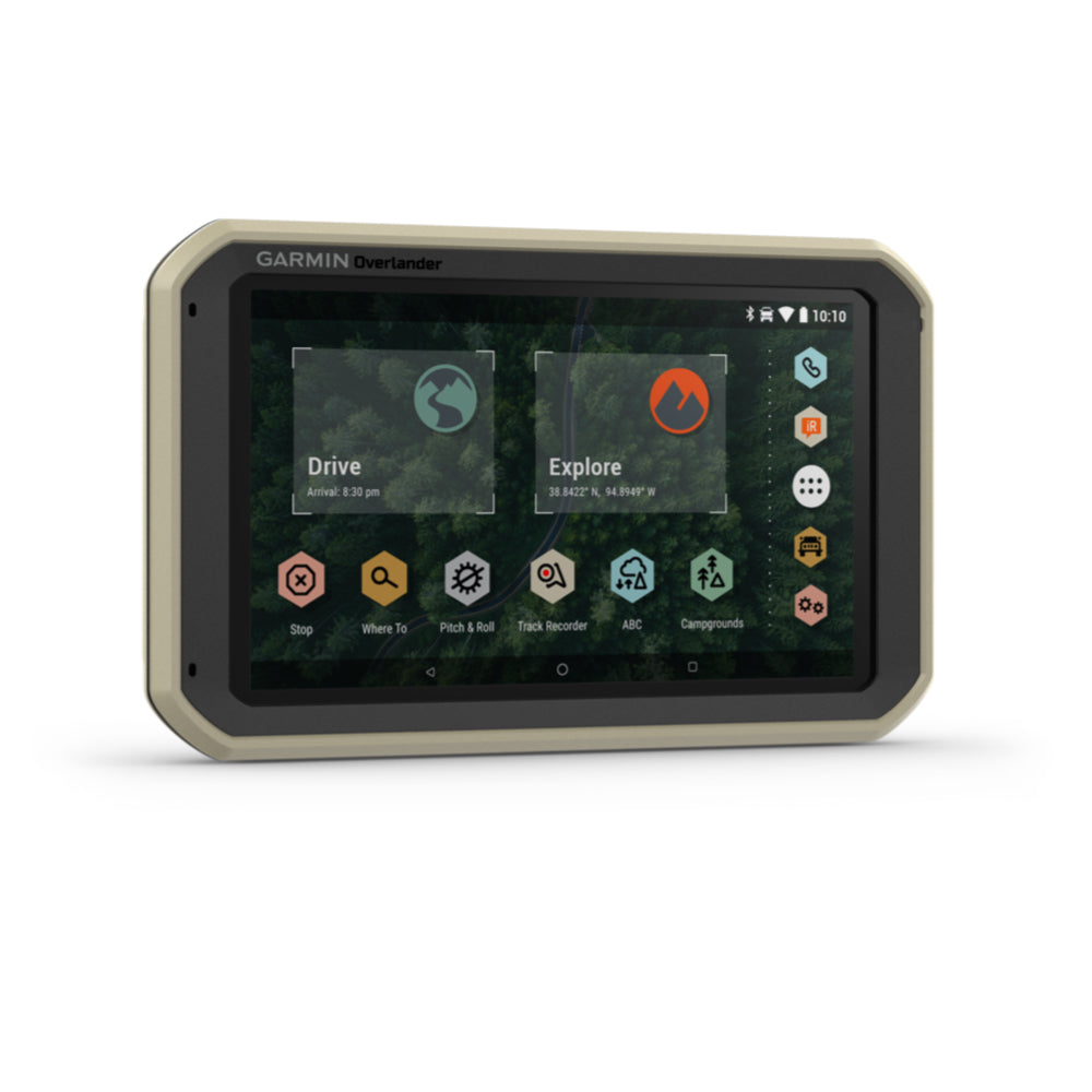 Garmin Overlander GPS All-Terrain Navigation Device - Model 010-02195-00 - Tactical Sports Gear