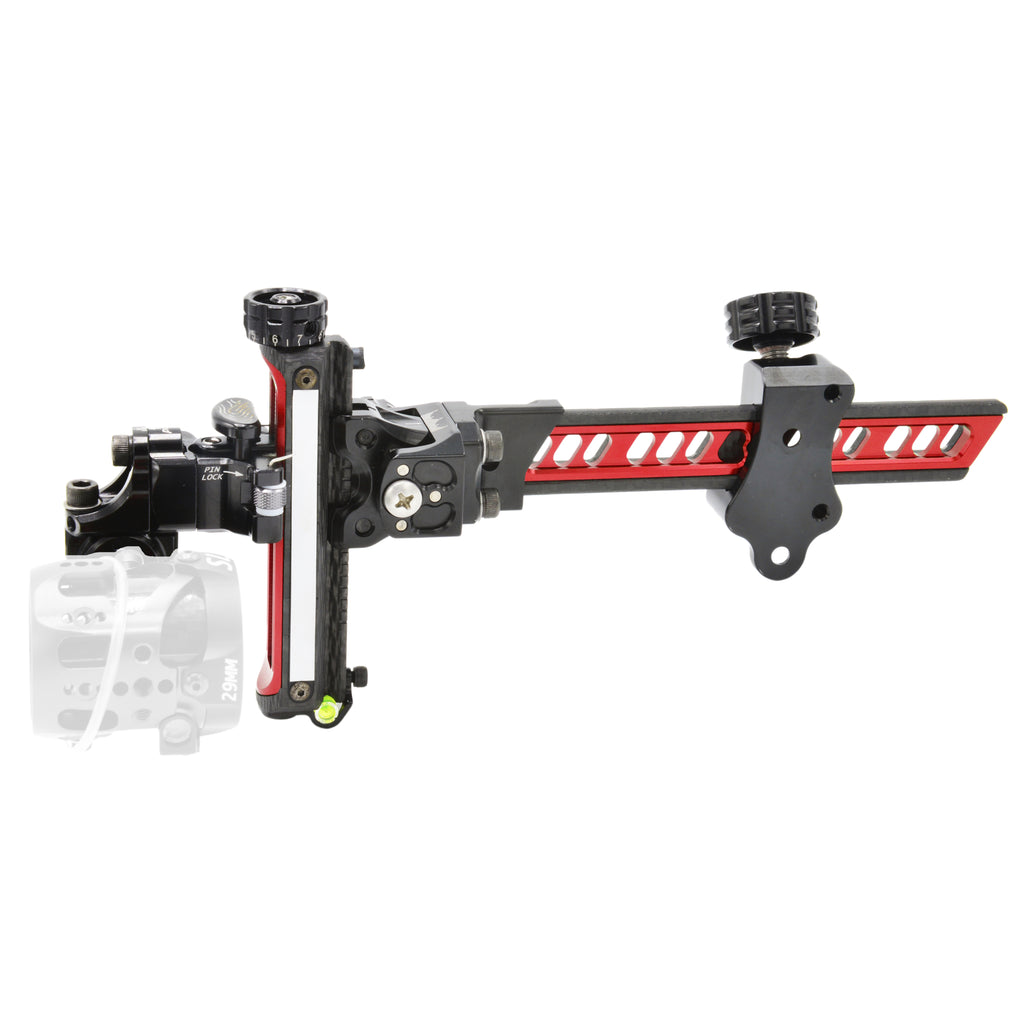Sure-Loc Carbonic Bow Sight - Red - SL50001 - Tactical Sports Gear