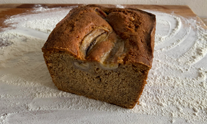 Vegan Sourdough Banana Bread by chef Patrick Young