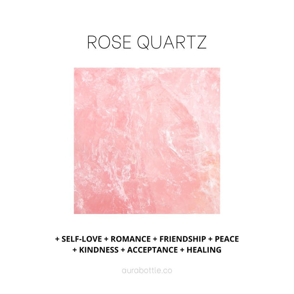 I am Rose Quartz, the stone of the heart. I help you to give and receive love unapologetically by seeking acceptance, kindness and peace within.