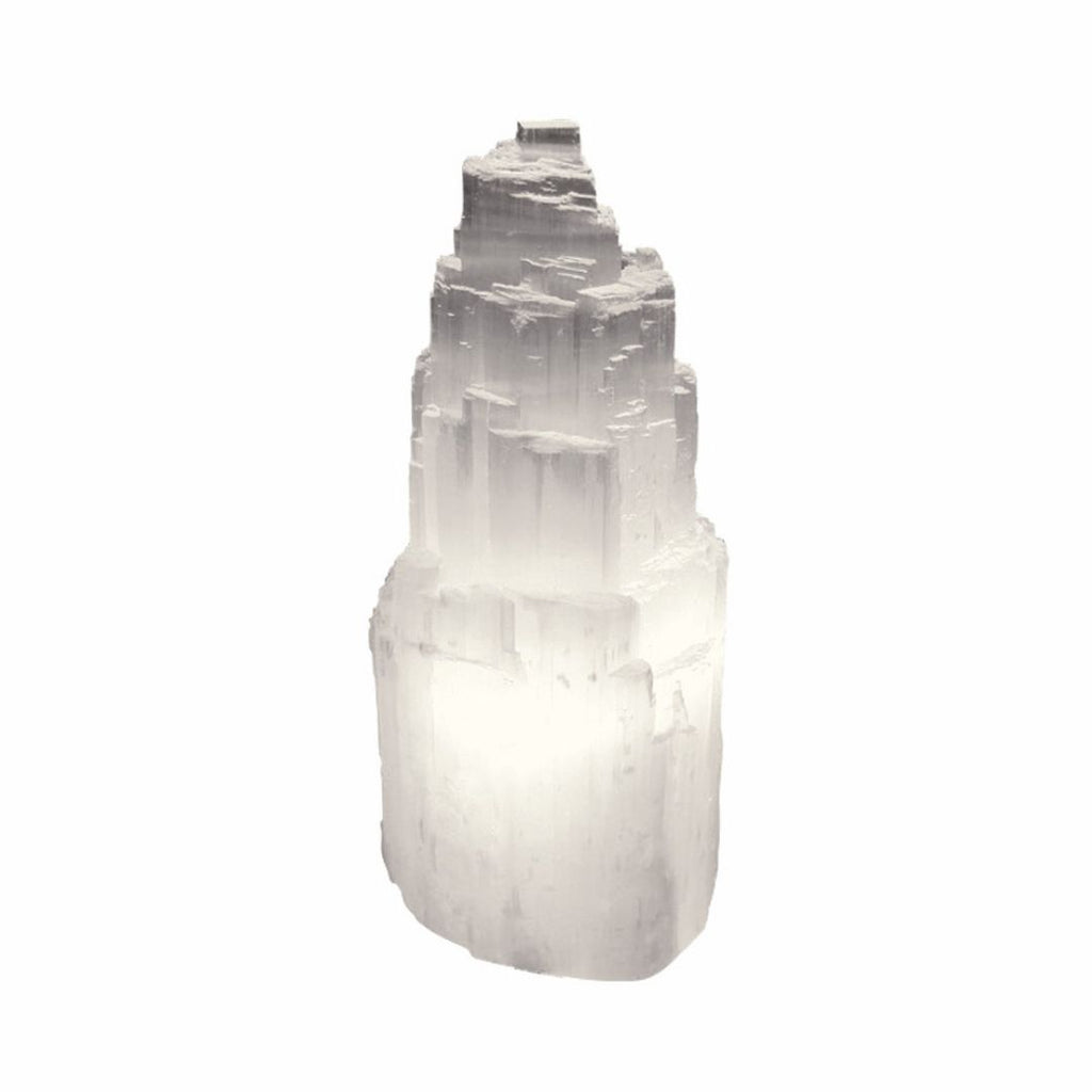 Selenite lamp is known for the ability to clear energy blockage and remove negativity in your space. It cleanses and purifies your energy so you can live in peace.