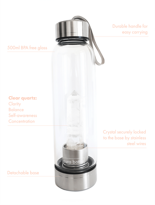 Clear Quartz Aura Bottle™