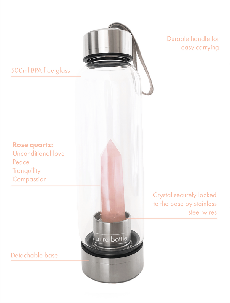 Rose Quartz Aura Bottle™