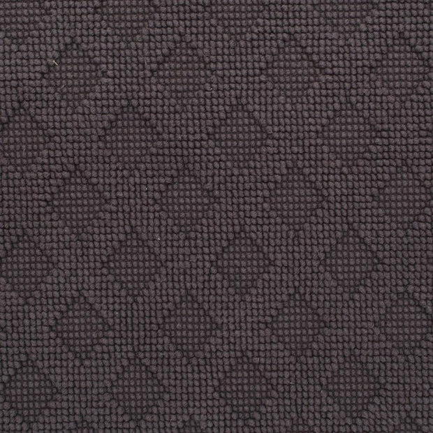 Osuna Bath Mat charcoal, 100% cotton | High quality homewares