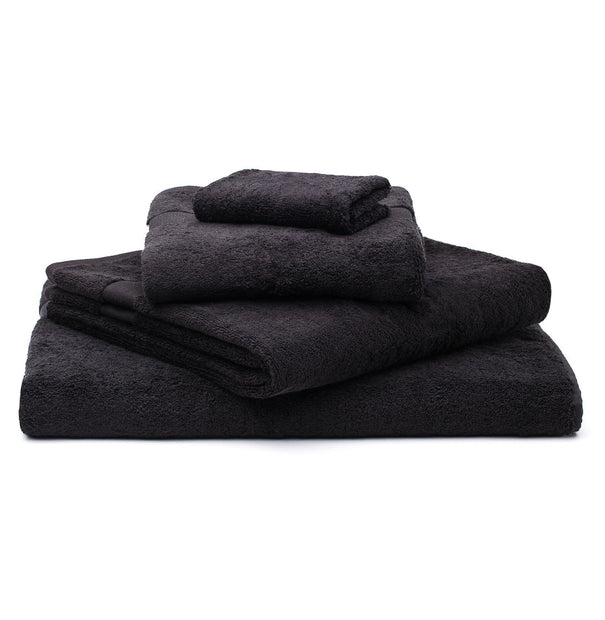 Penela hand towel, black, 100% egyptian cotton